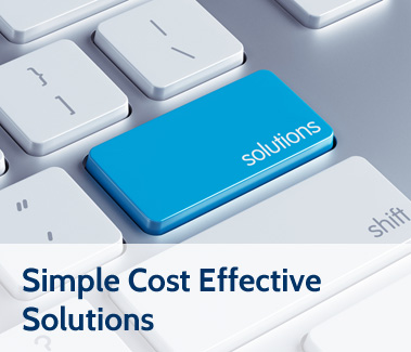 Simple Cost Effective Solutions